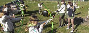 archery tag voor kinderen